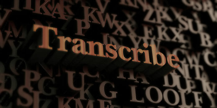Transcribing01